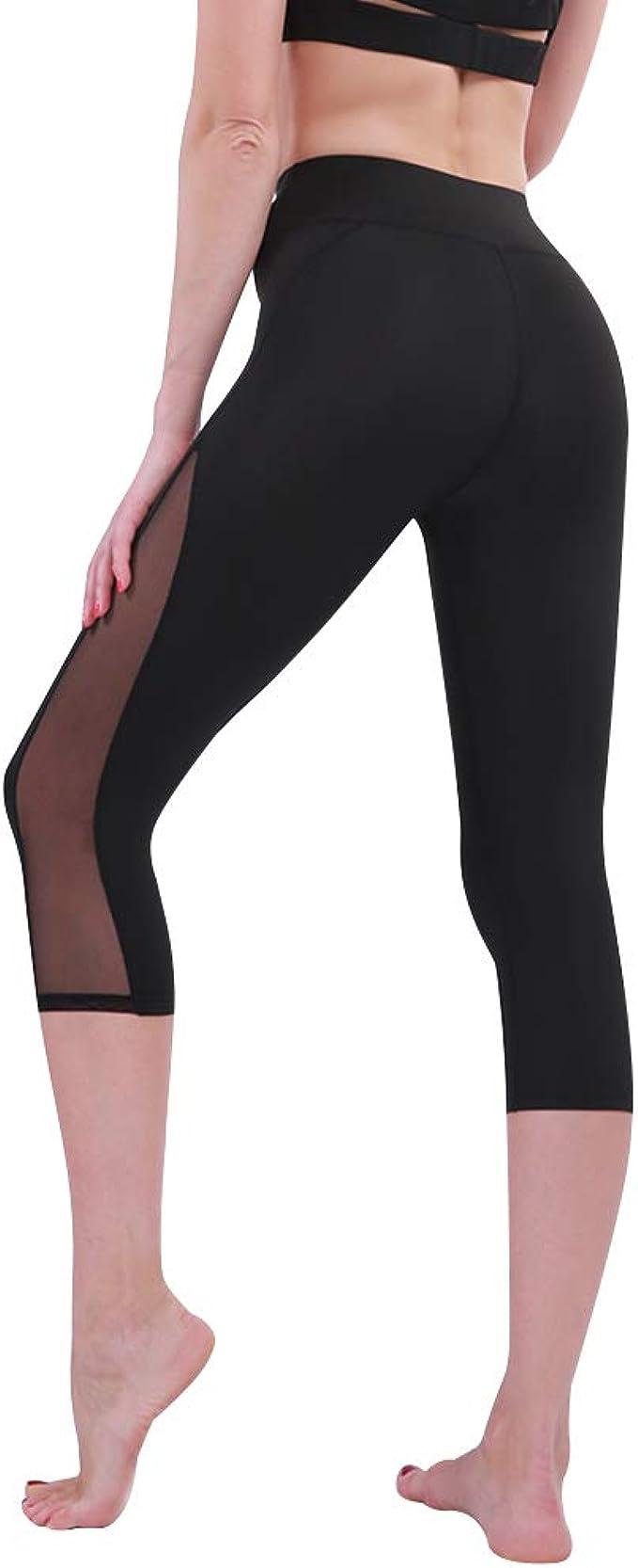 Amazon.com: INCHOICE Mallas de cintura alta para mujeres y ...
