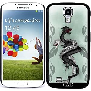 Funda para Samsung Galaxy S4 (GT-I9500/GT-I9505) - Doble Dragón by Illu-Pic.-A.T.Art