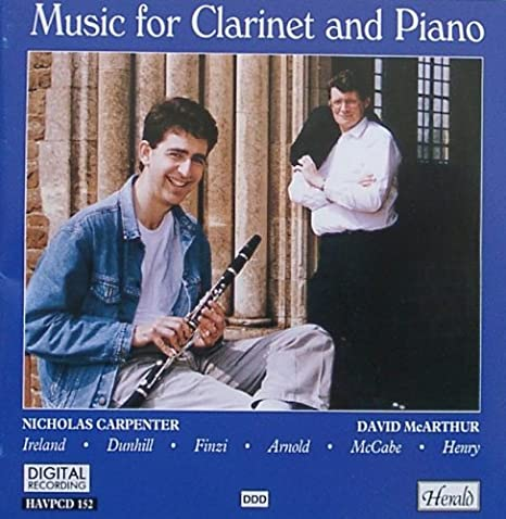 Contemporary Dunhill Phantasy Suite Clarinet Sheet Music & Song Books