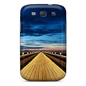 Fashionable Style Case Cover Skin For Galaxy S3- Beautiful Wood Pier