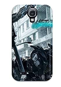 Hard Plastic Galaxy S4 Case Back Cover,hot Metal Gear Rising Revengeance 3 Case At Perfect Diy