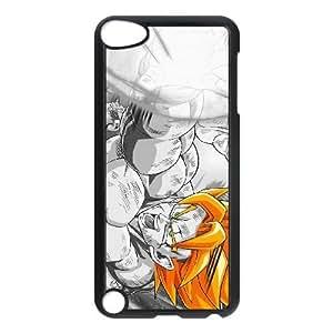 Son Goku Super Saiyan DRAGON BALL ANIME HD 1920 & amp; 215; 1200 funda funda iPod Touch 5 caso de la cubierta negro, funda de plástico caja del teléfono celular