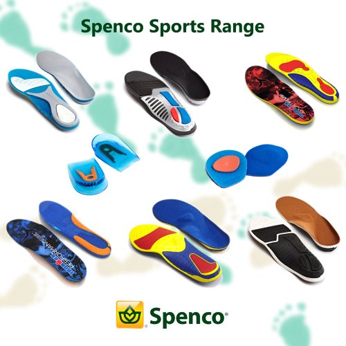 Spenco Support Sporteinlage Total blanco Thin Negro HqrHS5x