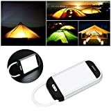 Dressffe Rechargeable 5W LED Light USB Work Camping Outdoor Camping Light Lamp
