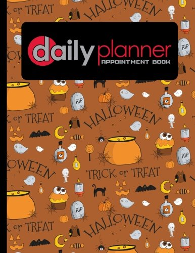 Download Daily Planner Appointment Book: 6 Columns Appointment Paper, Daily Appointment Book, Undated Appointment Planner, Cute Halloween Cover (Volume 38) PDF