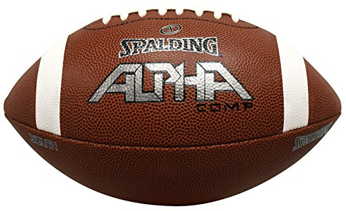Spalding Alpha Composite Football, Brown, ()