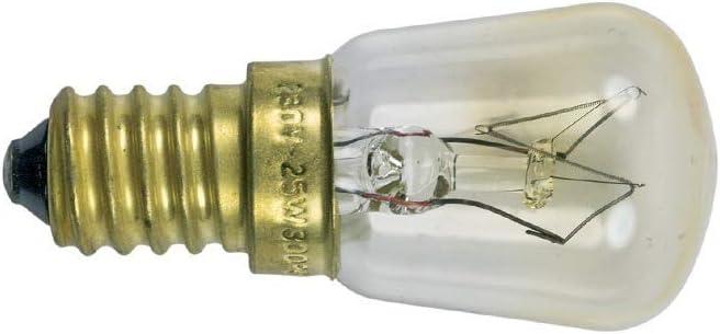 1 St/ück Leuchtmittel F/ür Mikrowelle//Backofen 25W Backofenlampe E14 Kleine Schraube Gap Pygmy Lampen  300 /°C Mikrowelle//Backofen Spezifische Leuchtmittel
