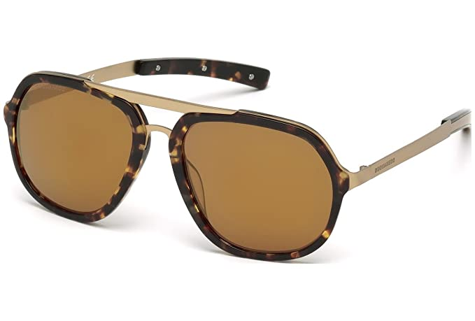 Gafas de sol DSquared2 DQ0213 C57 55G (coloured havana ...