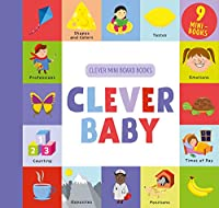 Clever Baby: 9 Mini Board Book Box Set (Clever