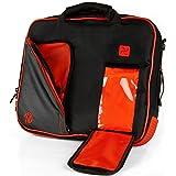 VanGoddy Pindar Lava Red Messenger Bag for Lenovo