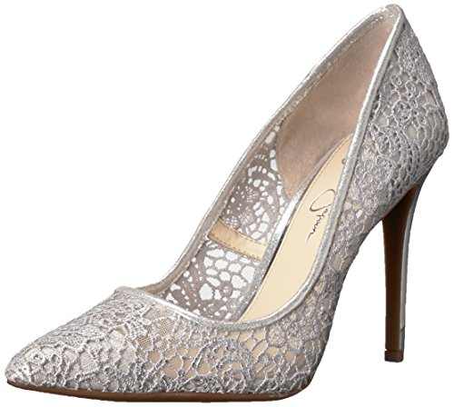 Jessica Simpson WoMen Praylee2 Pump Platinum