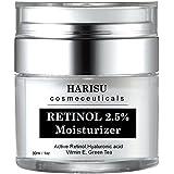 Crema Retinol Para La Piel - Con Vitamina C y Acido Hialuronico - Mejor Suero Antiarrugas