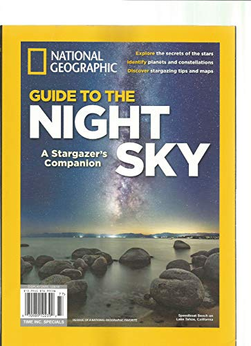 - NATIONAL GEOGRAPHIC MAGAZINE 2018, GUIDE TO THE NIGHT SKY.