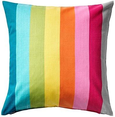 IKEA SKARUM - Funda de cojín, multicolor - 50x50 cm: Amazon ...