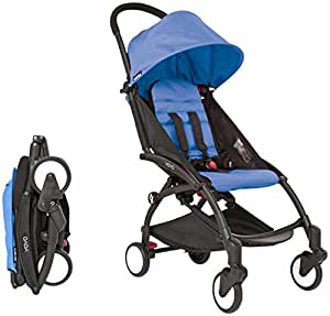 Amazon.com : Babyzen YOYO Stroller - Black - Blue