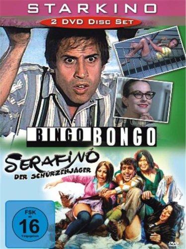 Celentano : Bingo Bongo / Serafino der Schürzenjäger - 2 DVD