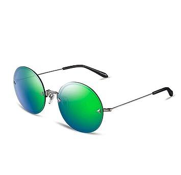 SHULING Gafas De Sol La Niña, Círculo, Sin Gafas De Sol Polarizadas Gafas De