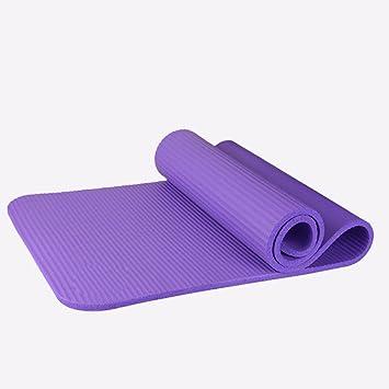 GTVERNH-Yoga fitness Mat pad inodoro largo grueso Starter ...