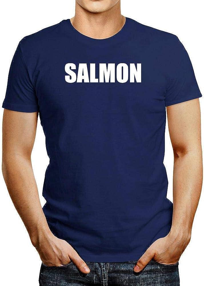 Idakoos Bold Salmon Camiseta: Amazon.es: Ropa y accesorios