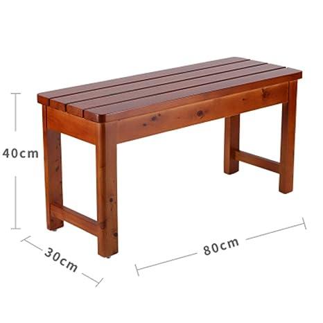 Outstanding Amazon Com Blakq Wooden Bench Single Step Footstool Small Inzonedesignstudio Interior Chair Design Inzonedesignstudiocom