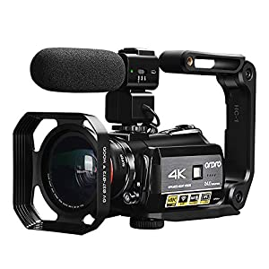 Flashandfocus.com 51e4fBUJ7qL._SS300_ 4K Camcorder, ORDRO AC3 Ultra HD Video Camera 1080P 60FPS WiFi Camera and IR Night Vision Camcorder 3.1'' IPS Touch…