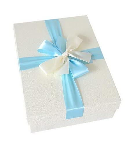 Caja simple con rectángulo del bowknot Caja grande del cumpleaños del día de San Valentín,