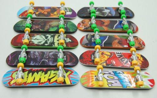 1pc Plastic Fingerboard Finger Skateboard Toys for Kids Children Party Favor