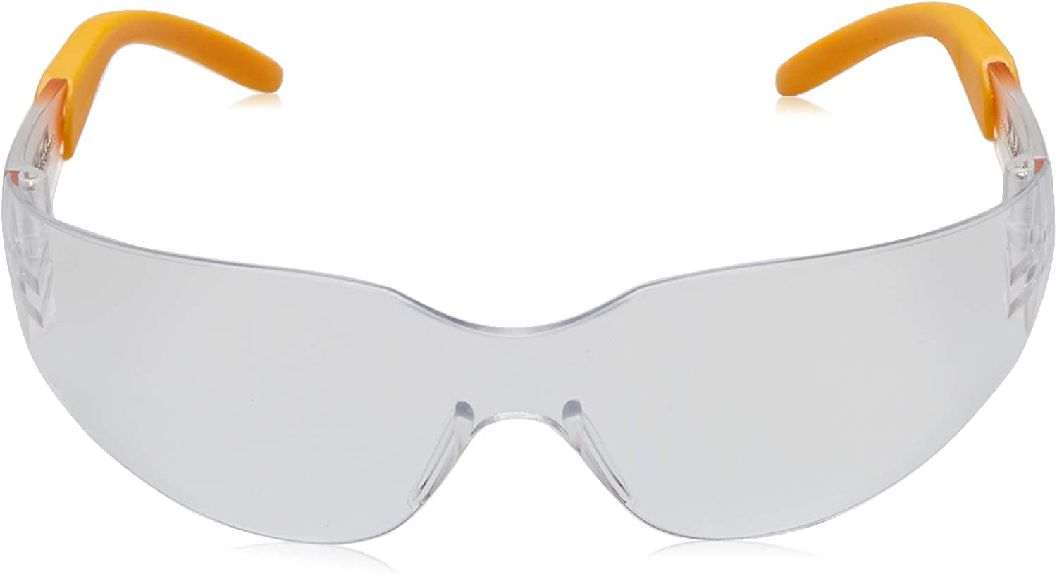 Dewalt DPG54-1D Protector Clear High Performance Lightweight Protective Safety Glasses with Wraparound Frame - Nerf Eye Protection -