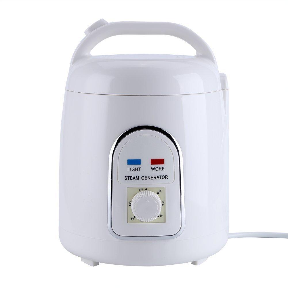 Vogvigo Portable Sauna Gé né rateur Pot Machine É vaporateur Antidé flagrant Pour La Maison SPA Douche - 220V 1.8 Litres (850W)
