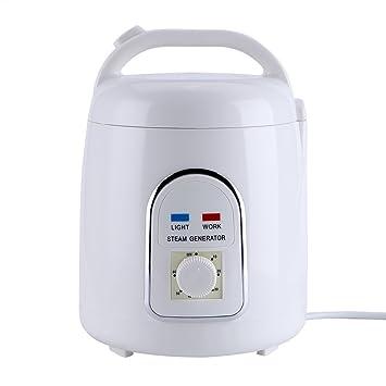 Vogvigo Sauna a vapor Personal Generador portátil de sauna Vaporizador Máquina de ollas Evaporador a prueba