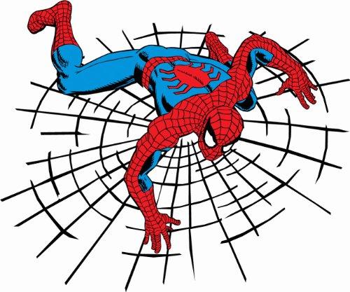 "Spider Man Superhero Cartoon Car Bumper Sticker Decal 5""x 4"""