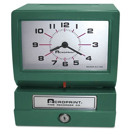 ACP01207040A - Model 150 Heavy-Duty Analog Automatic Print Time Clock ()