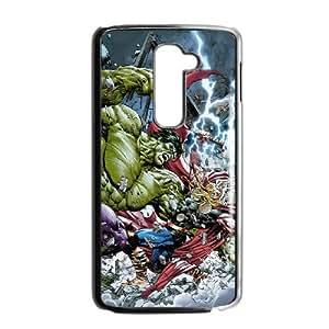 LG G2 Cell Phone Case Black Avengers UKX Wrapz Phone Case