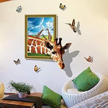 Amazon.com: fascio - Pegatinas de pared 3D con diseño de ...