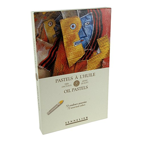 Sennelier Oil Pastel Assorted Set 72 Colors by Sennelier