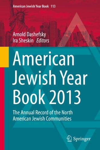 American Jewish Year Book 2013: 113 Pdf
