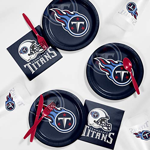 Creative Converting Tennessee Titans Tailgating Kit, Serves 8 ()