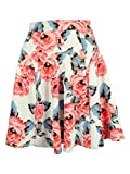 INC International Concepts Women's Floral-Print A-Line Skirt (4, Sugar Roses)