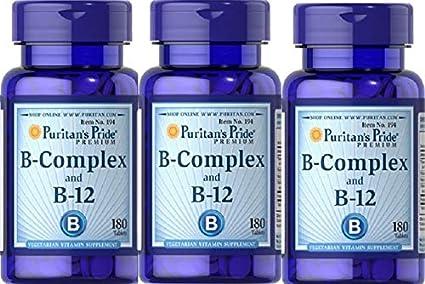 3 VITAMINA B12 Y B COMPLEX 180 COMPRIMIDOS (MEMORIA Y STRESS)