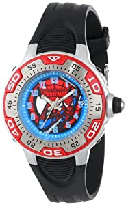 Marvel Kids' MA0108-D536-Red Marvel Spider-Man Spectrum Watch