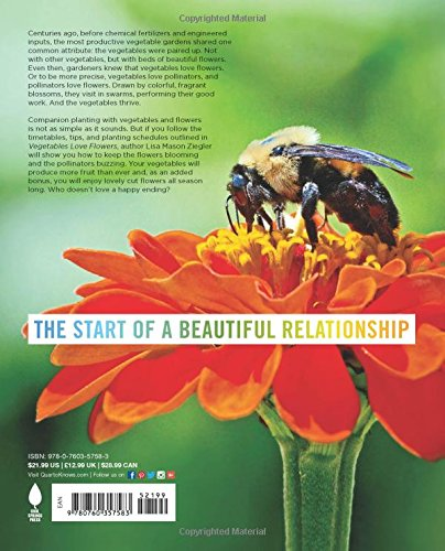 Vegetables Love Flowers: Companion Planting for Beauty and Bounty by Cool Springs Press (Image #2)