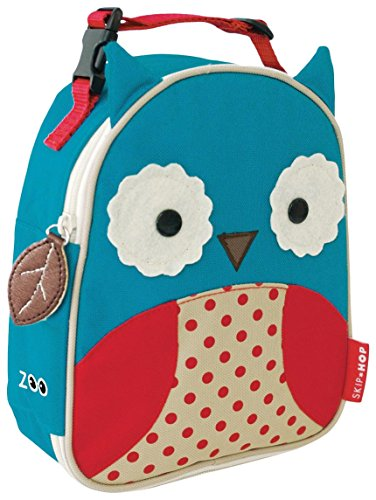 Skip Hop Zoo Lunchie Insulated Lunch Bag, Owl
