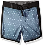 Hurley Baby Boys' One & Only Boardshort Board Shorts, Black Third Reef, 24 Months