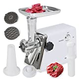 1400 Watt Industrial Electric Meat Grinder Meat Grind Steel (Coarse, Fine & Medium) CE Listed