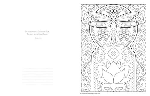 Follow Your Bliss Coloring Book Activity Design