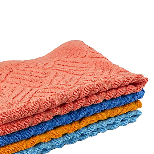 Amazon.com: Ama de Casa, Non-Slip Bathroom Rug with Extraordinary Absorbing Capacity - Shag Shower Mat Machine-Washable Bath mats Water Absorbent Soft ...