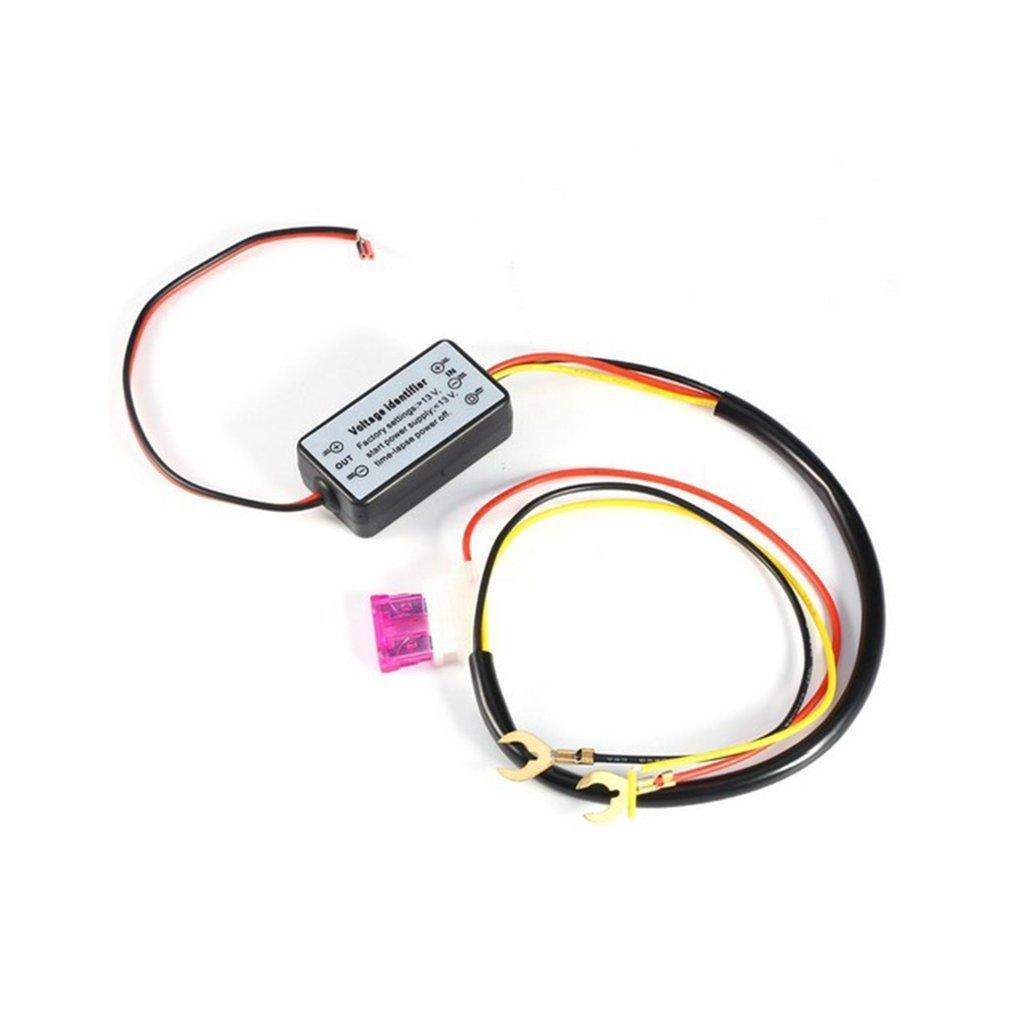 Ndier Tagfahrlicht LED Licht Controller LED Auto Licht Verz/ögerung Steuerung Gurt