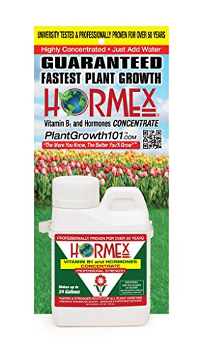Vitamin B1 and Plant Hormone Concentrate - Stops Transplant Shock | Accelerates Growth | Stimulates Roots - (Hormex Liquid)