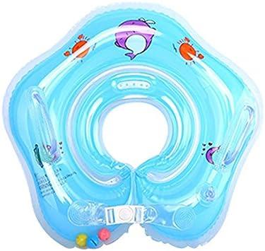 Xueliee Flotador de natación para bebé con toldo Inflable para ...