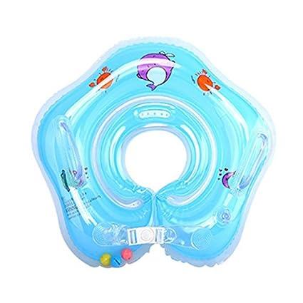 Xueliee Flotador de natación para bebé con toldo Inflable ...